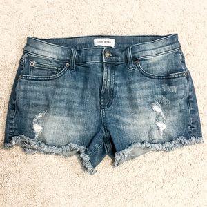 Lila Ryan Distressed Shorts
